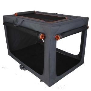 Faltbare Nylonbox Alu deluxe - Gr. L: L 91 x B 61 x H 58 cm