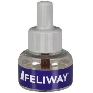 Feliway Nachfüllflakon für eckigen Zerstäuber - 1 Monats-Nachfüllflakon (24 ml) für Zerstäuber