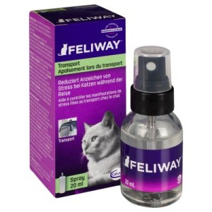 Feliway Zerstäuber oder Umgebungsspray - Sparset: 2 Nachfüllflakons à 48 ml
