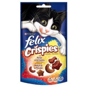 Felix Crispies - Sparpaket Rind & Huhn (3 x 45 g)