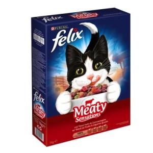 Felix Meaty Sensations mit Fleisch - Sparpaket 3 x 2 kg