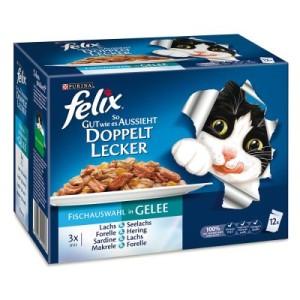 """Felix ''So gut ..."""" doppelt lecker 12 x 100 g - Fleischauswahl"""