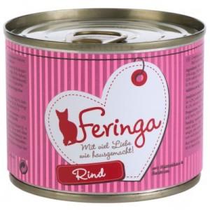 Feringa Fleisch-Menü 6 x 200 g - Huhn mit Kürbis & Katzenminze
