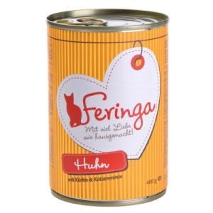 Feringa Fleisch-Menü 6 x 400 g - Huhn mit Kürbis & Katzenminze