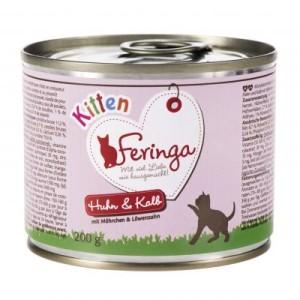 Feringa Menü Kitten 6 x 200 g - Huhn & Kalb