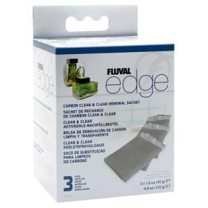 Fluval Edge Aktivkohle Filtereinsatz 3er - 1 Stück