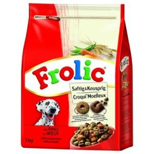 Frolic Saftig & Knusprig mit Rind - Sparpaket: 3 x 3 kg