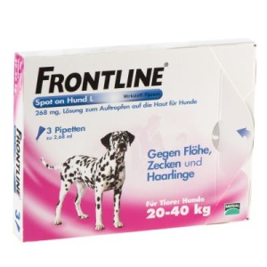 Frontline® Spot on Hund L - 3 Pipetten