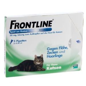 Frontline® Spot on Katze - 6 Pipetten