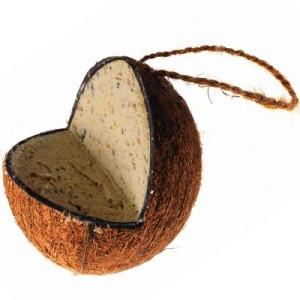 Gefüllte Kokosnuss mit Fettfuttermischung - 350 g