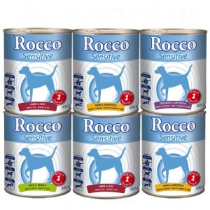 Gemischte Probierpakete Rocco 6 x 800 g - Sensitive