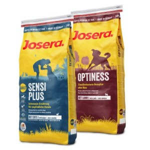 Gemischter Doppelpack: Josera Optiness + Sensiplus - 2 x 4 kg