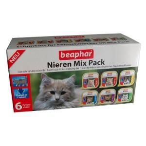 Gemischter Probierpack Beaphar Nierendiät - 6 x 100 g