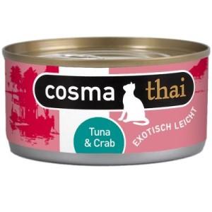 Gemischtes Paket: Cosma Original + Thai + Nature - Thunfisch-Paket (24 Dosen