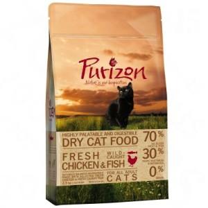 Gemischtes Paket Purizon Katzentrockennahrung - 3 x 2