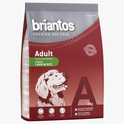 Gemischtes Probierpaket Briantos Adult 2 x 3 kg - Lachs & Reis + Huhn & Reis