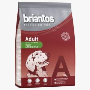 Gemischtes Probierpaket Briantos Adult 2 x 3 kg - Lamm & Reis + Lachs & Reis
