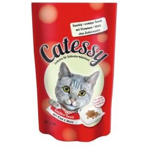 Gemischtes Probierpaket Catessy Knabber-Snack 3 x 65 g - mit 3 verschiedenen Sorten