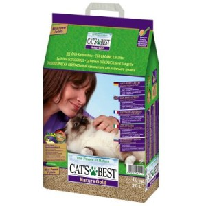 Gemischtes Probierpaket: Cat's Best - (10 l) Öko Plus + (10 l) Nature Gold