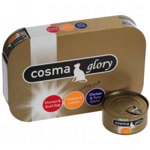 Gemischtes Probierpaket: Cosma Glory in Jelly - 6 x 170 g