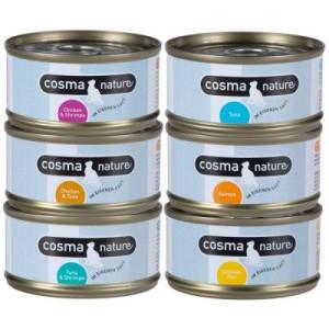 Gemischtes Probierpaket Cosma Nature - 6 x 140 g (6 Sorten)