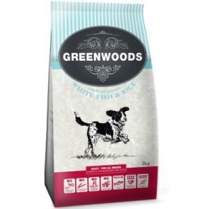 Gemischtes Probierpaket Greenwoods Adult Hundetrockenfutter - 3 x 2 kg (Truthahn