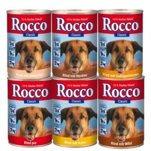Gemischtes Probierpaket Rocco Classic 6 x 400 g - 6 verschiedene Sorten