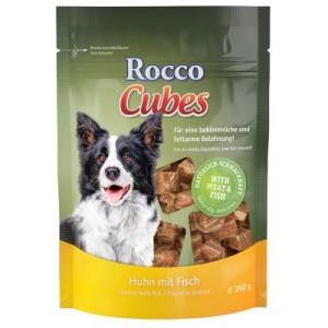Gemischtes Probierpaket Rocco Cubes 2 x 150 g - 2 verschiedene Sorten