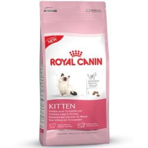 Gemischtes Probierpaket Royal Canin Kitten - Kitten Sterilised bis zum 12. Monat (2 kg)