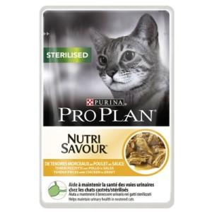 Gemischtes Sparpaket Pro Plan 12 x 85 g - Housecat & Sterilised Huhn
