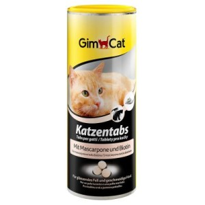 GimCat Katzentabs Mascarpone + Biotin - 3 x 350 Stück