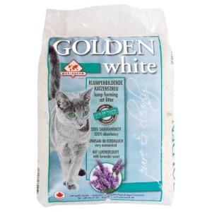 Golden White Katzenstreu - Sparpaket 2 x 14 kg