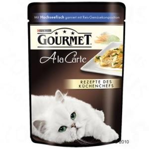 Gourmet A la Carte 24 x 85 g - Truthahn mit Gemüse
