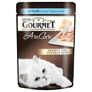 Gourmet A la Carte 48 x 85 g - Lachs