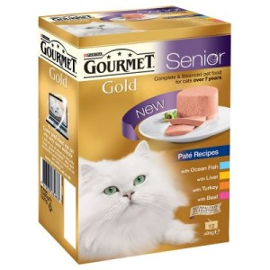 Gourmet Gold 12 x 85 g - Kollektion in Soße
