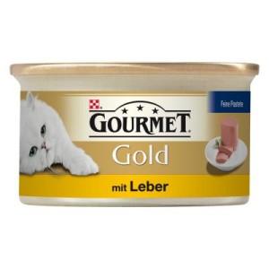 Gourmet Gold Feine Pastete 12/24/48 x 85 g - Rind (12 x 85 g)