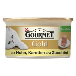Gourmet Gold Terrine 12/24/48 x 85 g - Huhn (12 x 85 g)