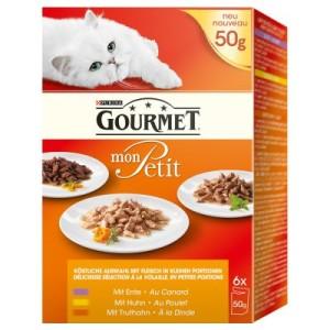 Gourmet Mon Petit 6/12/24 x 50 g - Duetti Fleisch & Fisch (24 x 50 g)