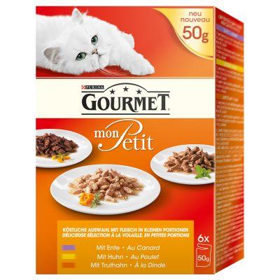 Gourmet Mon Petit 6/12/24 x 50 g - mit Fleisch (6 x 50 g)
