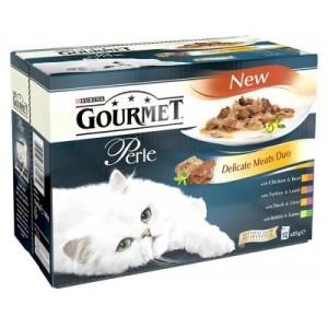 Gourmet Perle 12 x 85 g - Delikates-Fleisch-Duo