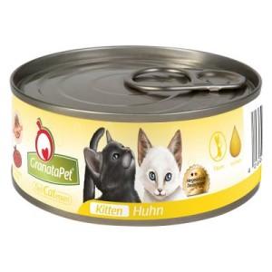 GranataPet DeliCatessen 6 x 100 g - Kitten Kalb & Pute