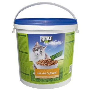 Grau Basic Cat Care Geflügel - 5 kg