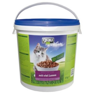 Grau Basic Cat Care Lamm - 5 kg