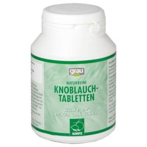 Grau Knoblauch Tabletten - 2 x 200 Stk.