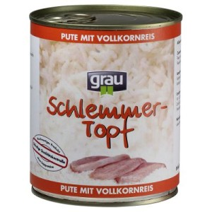 Grau Schlemmertöpfe 1 x 800 g - Lamm mit Vollkornreis