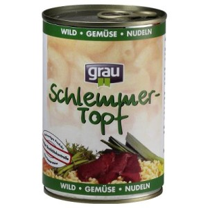 Grau Schlemmertöpfe 12 x 400 g - Pute mit Vollkornreis