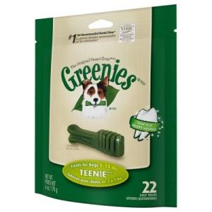 Greenies Zahnpflege-Kausnacks - Sparpaket: Teenie (3 x 170 g/22 Stk.)
