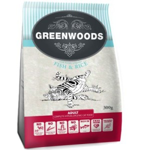 Greenwoods Adult Fisch - Sparpaket: 5 x 2 kg