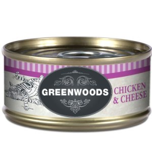 Greenwoods Adult Hühnchenfilet mit Käse - 6 x 70 g