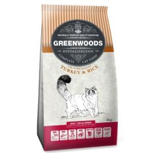 Greenwoods-Probierset II: Trockenfutter + Holzstreu - Adult Truthahn + 8 L Holzstreu